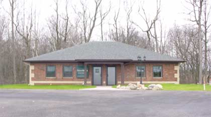 Jim Scheiber's office of Edward Jones Company in Northpoint Business Park, Huntington, Indiana
